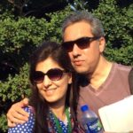 Juhi Chaturvedi With Her Husband Asheesh Malhotra