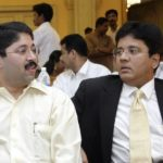 Kalanithi Maran (Right) With His Younger Brother Dayanidhi Maran
