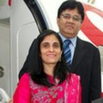 Kalanithi Maran with his Wife