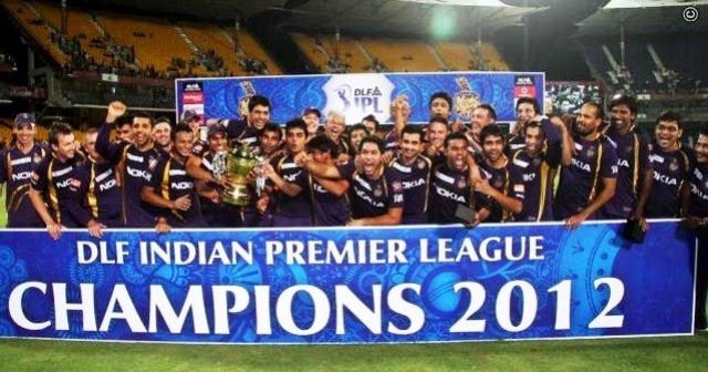 Kolkata Knight Riders (2012) IPL Win