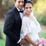 Lara Dutta - Mahesh Bhupathi marriage photo