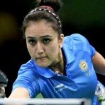Manika Batra loves to paint nails