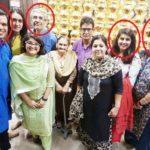 Manika Batra with her family