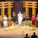 Manoj Joshi Playing The Role of Chanakya on Stage
