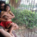 Manu Rishi With His Daughter Mansha