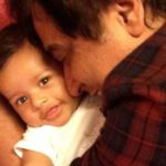 Manu Rishi With His Son Kabir