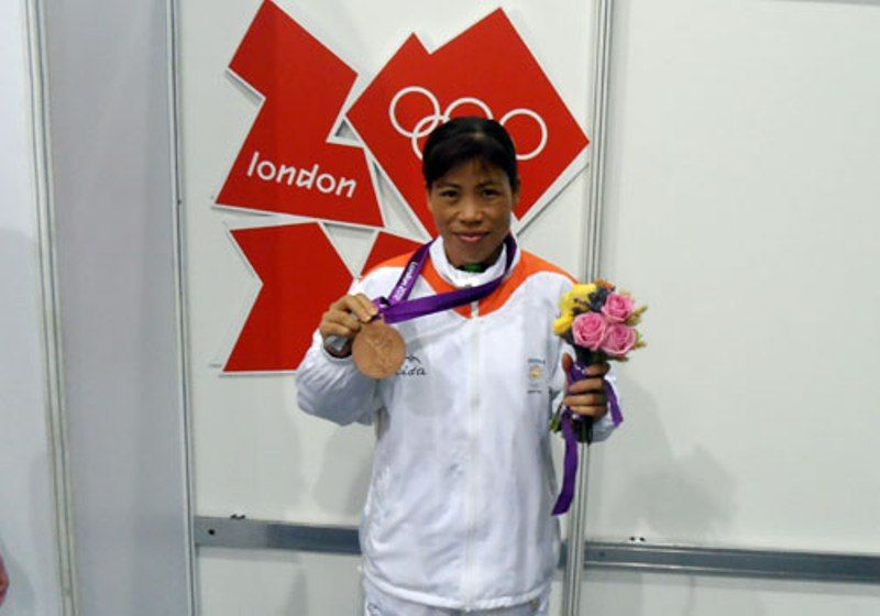 Mary Kom's Olympic Bronze