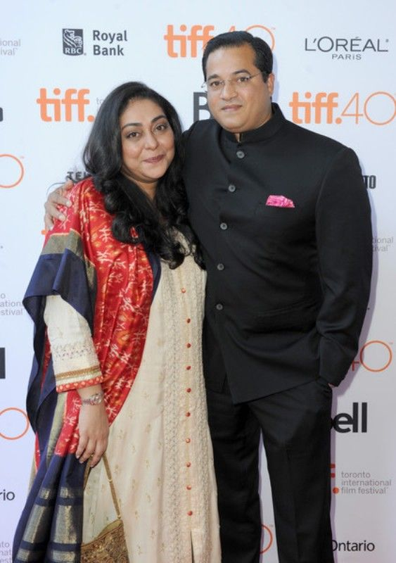 Meghna Gulzar with her husband Govind Sandhu