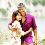 Milind Soman with his wife Ankita Konwar