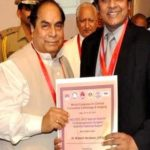 Mukesh Hariawala received Angiogenesis National Award