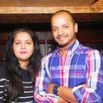 Murali Kartik With His Wife