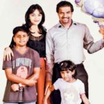 Muttiah Muralitharan With His Family