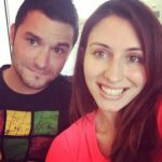 Natalie Di Luccio with her brother