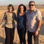Natalie Di Luccio with her parents