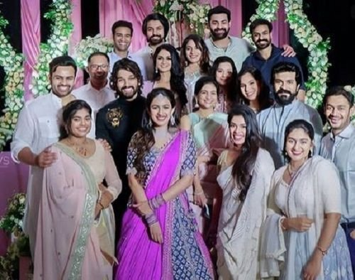 Niharika Konidela With Her Family