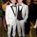 Orkut Buyukkokten With His Ex-Partner Derek Holbrook