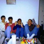 Orkut Buyukkokten With His Friends At The Stanford