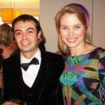 Orkut Buyukkokten With Marissa Mayer