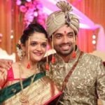 Radhika Dhopavkar With Her Husband Ajinkya Rahane
