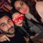 Ranbir Kapoor With His Cousins Kareena And Karishma