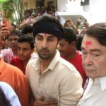 Ranbir Kapoor With His Uncle Randhir Kapoor