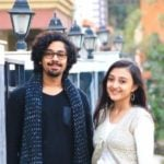 Riddhi Sen With His Girlfriend Surangana Bandyopadhyay