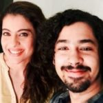 Riddhi Sen With Kajol At The Sets Of Eela
