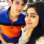 Rohan Mehra with Yukti Kapoor