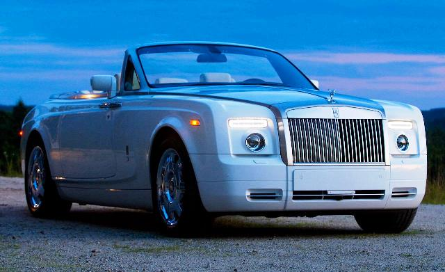 SRK Rolls Royce Phantom Drophead Coupe