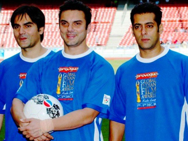 Salman Khan With His Brothers
