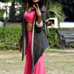 Sandy Saha likes to wear women outfits
