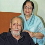 Shammi Kapoor With Wife Neela Devi Gohil