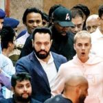 Shera with Justin Bieber
