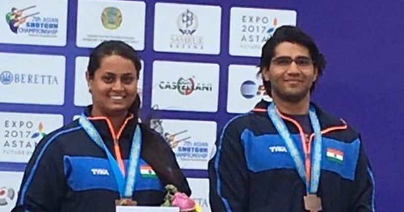 Shreyasi Singh Got Bronze Medal at Asian Shotgun Championship
