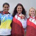 Shreyasi Singh Got Silver Medal At The 2014 Commonwealth Games