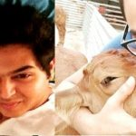 Sidharth Sagar loves animals