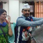 Swati Maliwal With Her Husband Naveen Jaihind