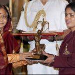 Tejaswini Sawant Getting Arjuna Award