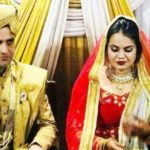 Athar Aamir Khan and Tina Dabi marriage photo