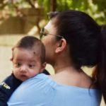 Tulsi Kumar with her son Shivaay Ralhan