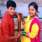 Vineet Bhonde with his wife