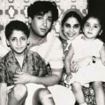 Shammi Kapoor With His Family