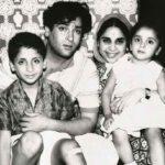 Shammi Kapoor With His Family