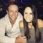 AB de Villiers with his wife