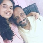Ahsaas Channa with her father