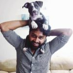 Ajay Manthena loves dogs