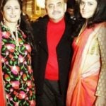 Akshay Dogra's parents and sister
