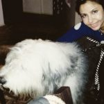 Ameira Punvani loves dogs