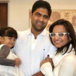 Anaitha Nair With Her Husband
