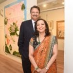 Ajay Piramal with her husband